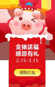 2019开工大吉 金猪送福 感恩有礼